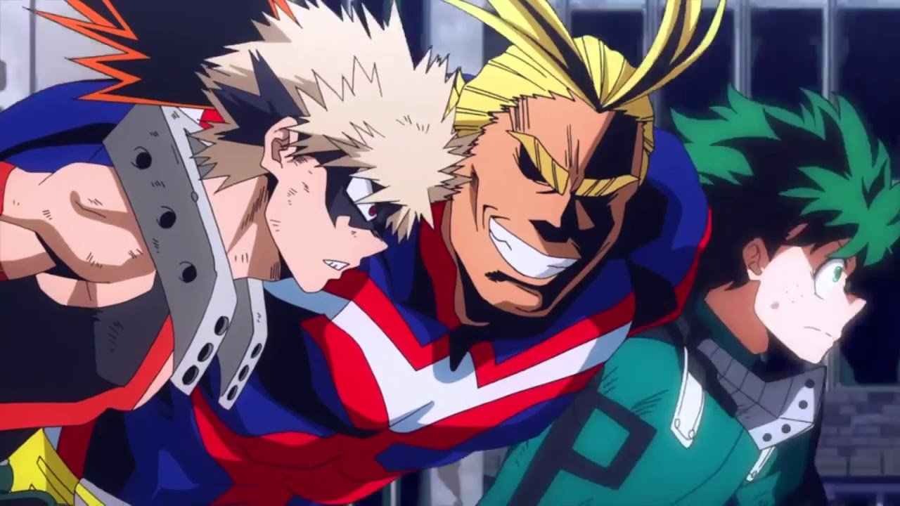 All Might, Deku, Bakugo, My Hero Academia Live-Action Anime Adaptation
