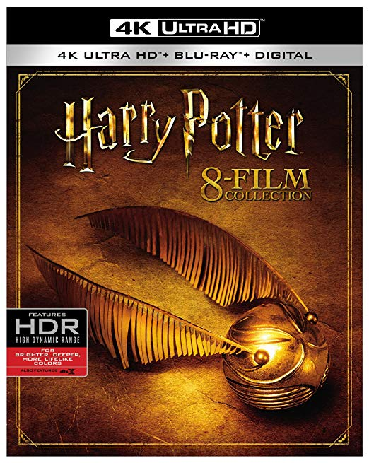 Harry Potter Collection 4k Blu-ray