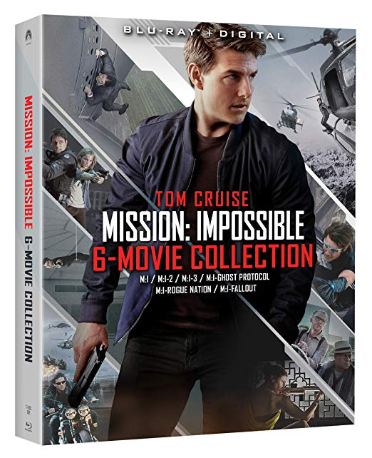Mission- Impossible - 6 Movie Collection 4k Ultra HD Blu-ray