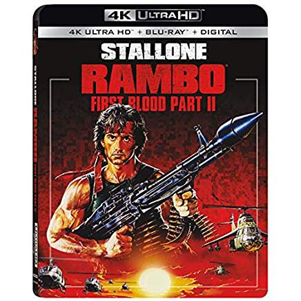 Rambo First Blood Part 2 4k Blu-ray thumb