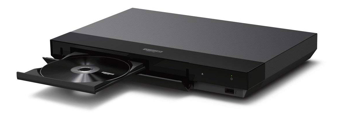 Sony UBP-X700 4K Ultra HD Blu-ray Player open