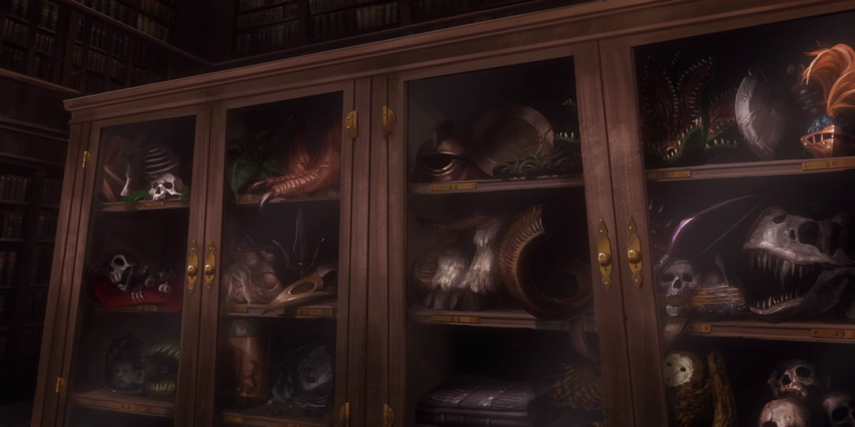 Symphony of the Night Bestiary Easter Egg in Netflix Castlevania season 2
