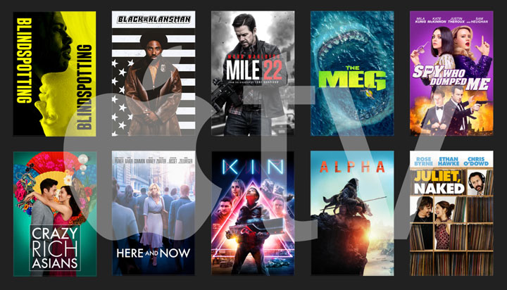 Apple TV 4k new movies Nov. 2018