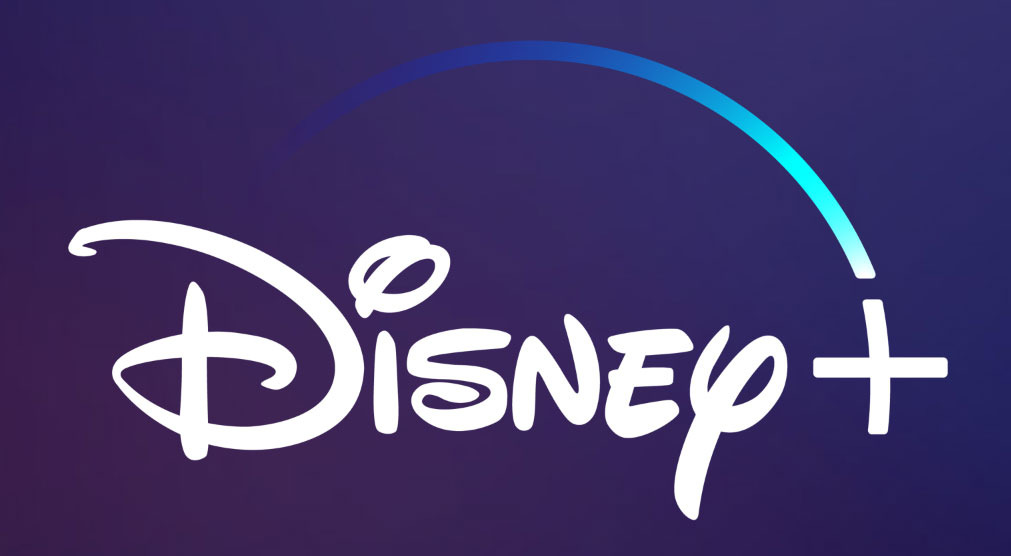 disney plus logo on background