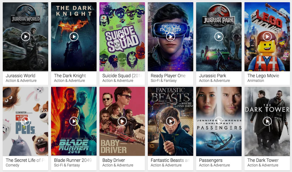 c1a1e0965b48 List of Google Play 4k   HDR Movies – HD Report