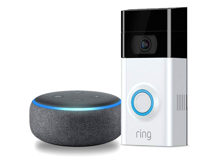 ring doorbell 2 with alexa echo dot