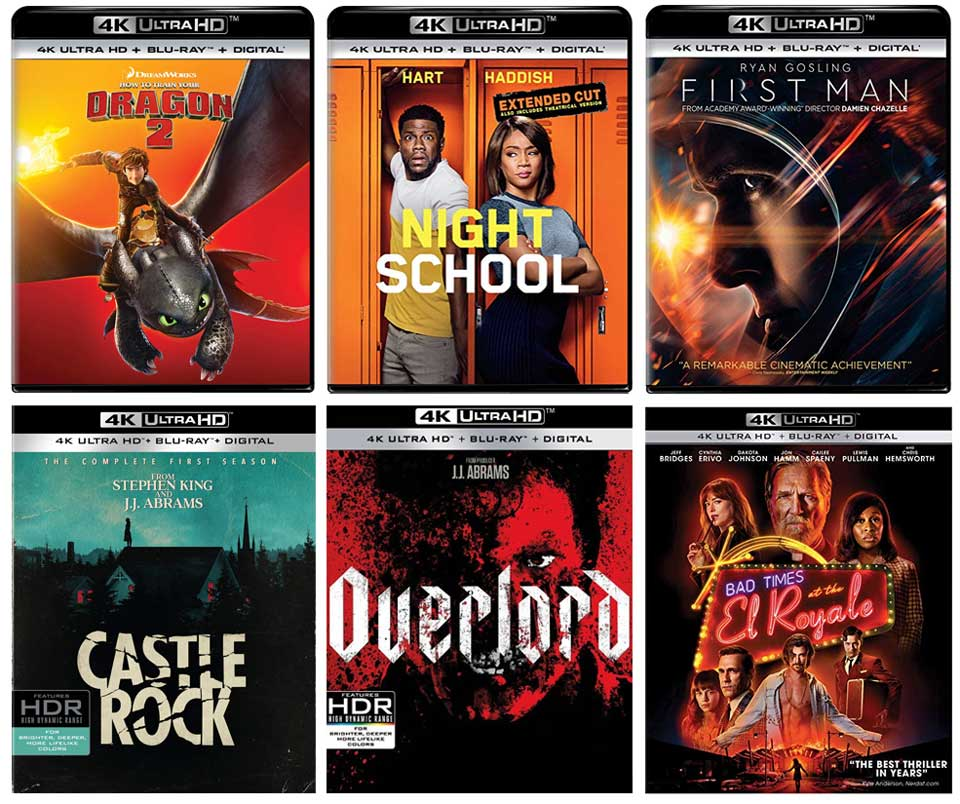 New 4k Blu-ray Releases in January, 2019 – HD Report