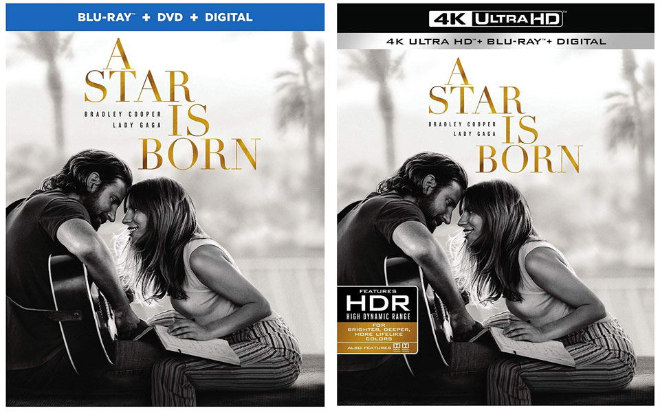 A Star Is Born Blu-ray & 4k Blu-ray