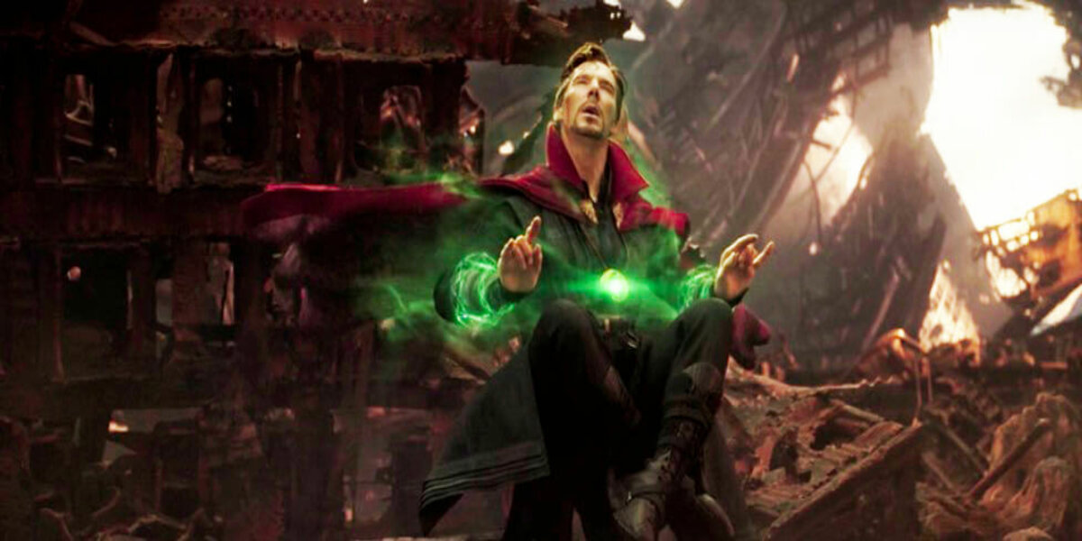 Dr. Strange Avengers Infinity War Views Future Events