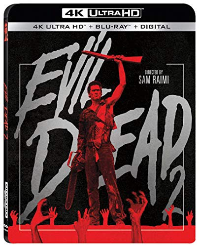 Evil Dead 2 Ultra HD 4k Blu-ray
