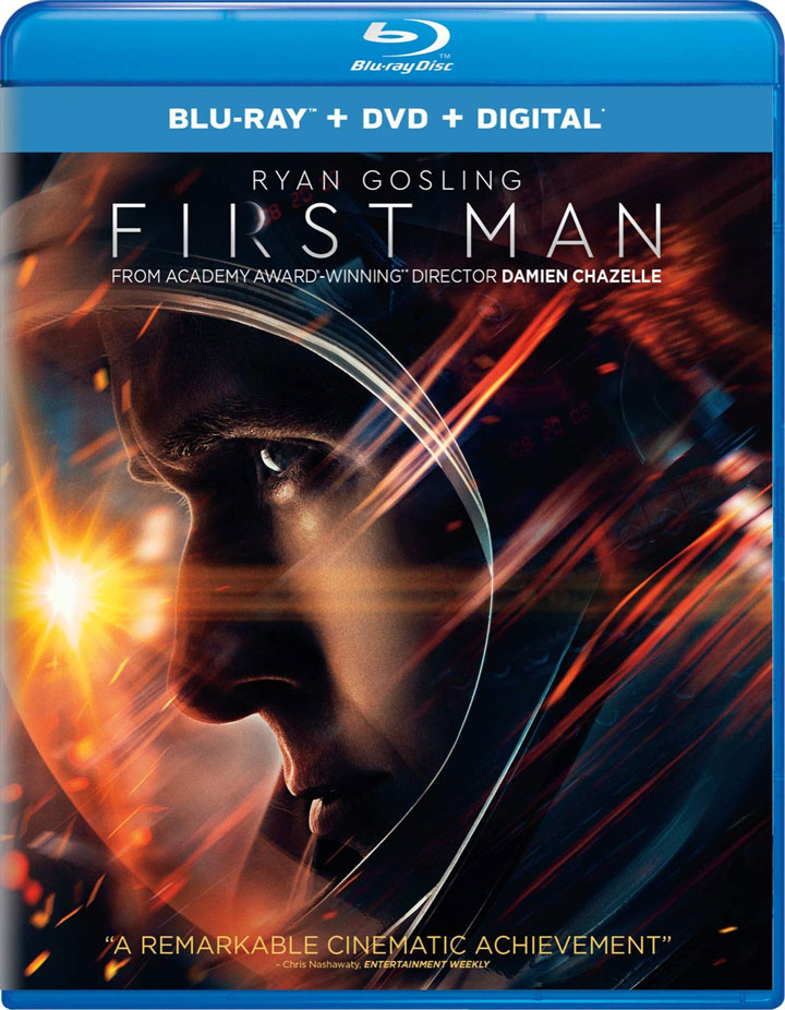 First Man Blu-ray front