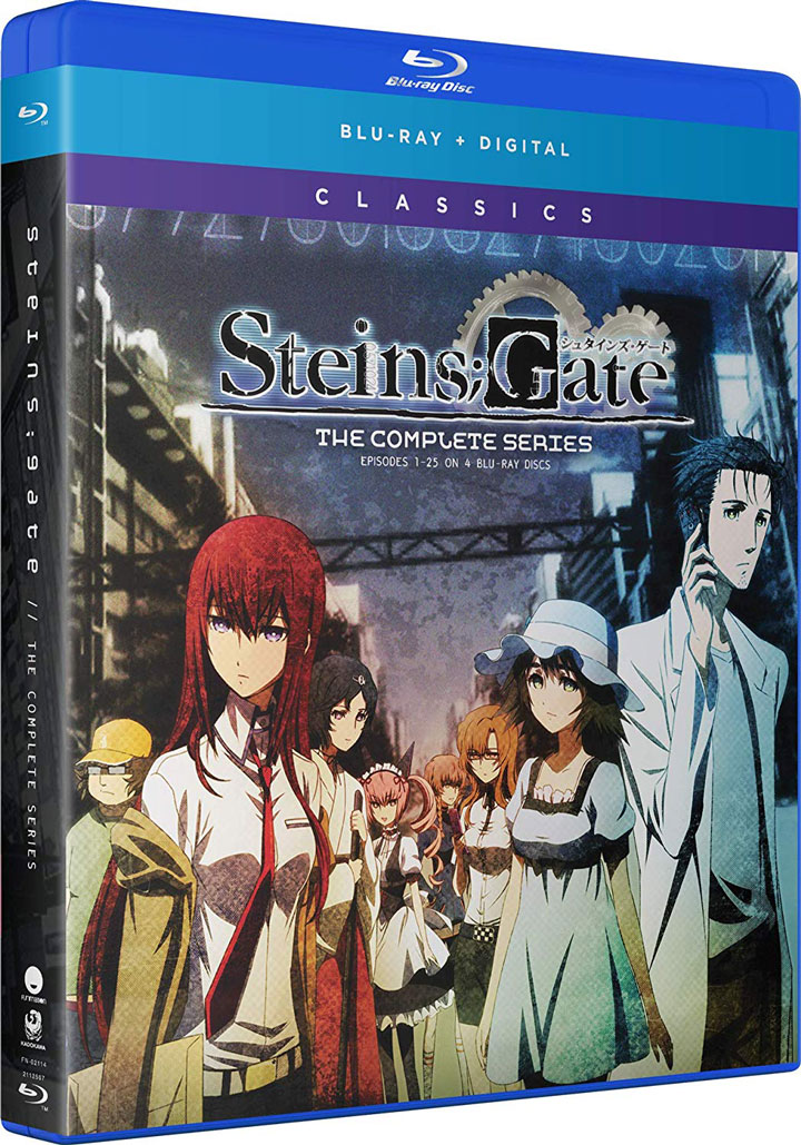 SteinsGate The Complete Series Blu-ray