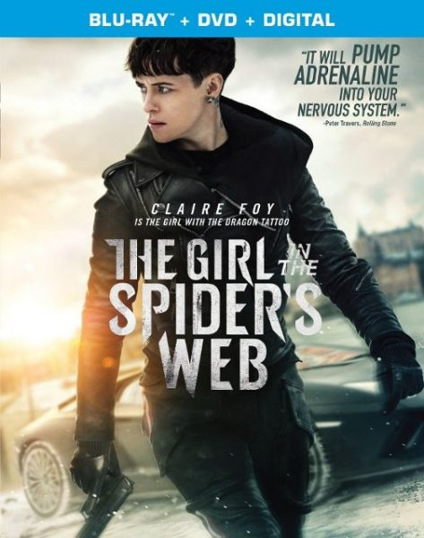 The Girl in the Spider's Web Front Blu-ray