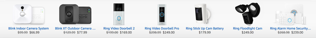 Amazon Security Systems