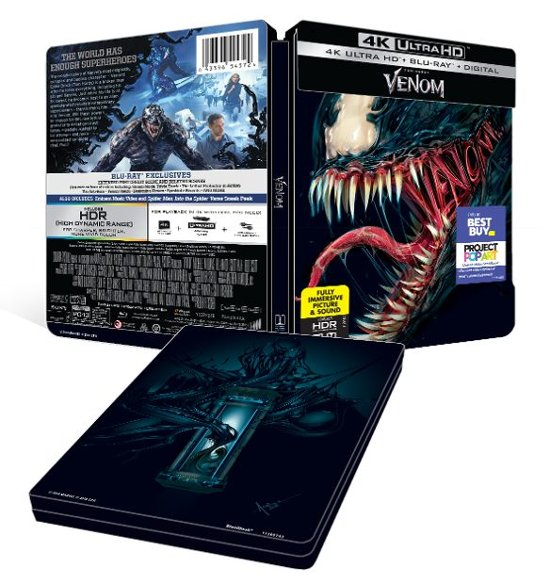 'Venom' Best Buy SteelBook Blu-ray Edition