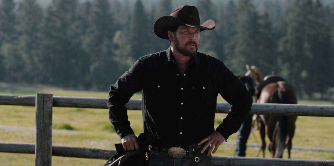 "Cole Hauser in ""Yellowstone"""
