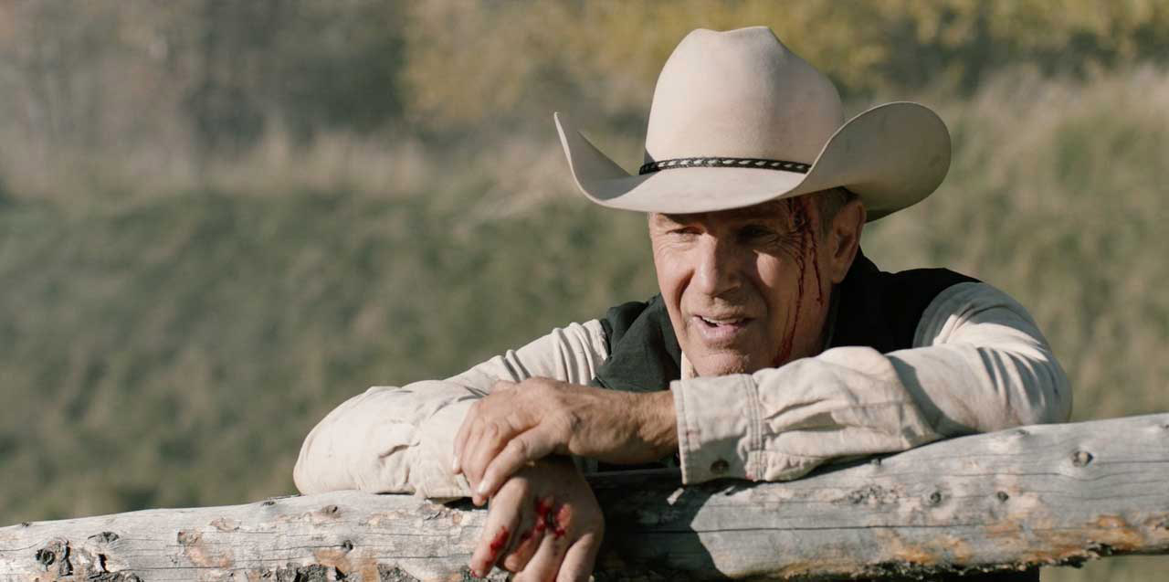 "Kevin Costner in ""Yellowstone"""