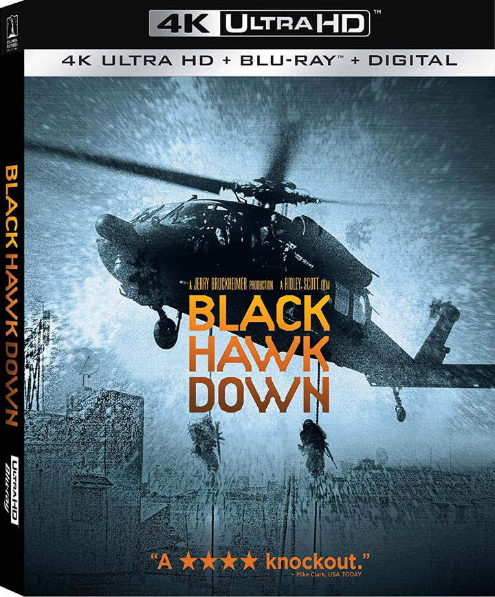 Black Hawk Down 4k Blu-ray