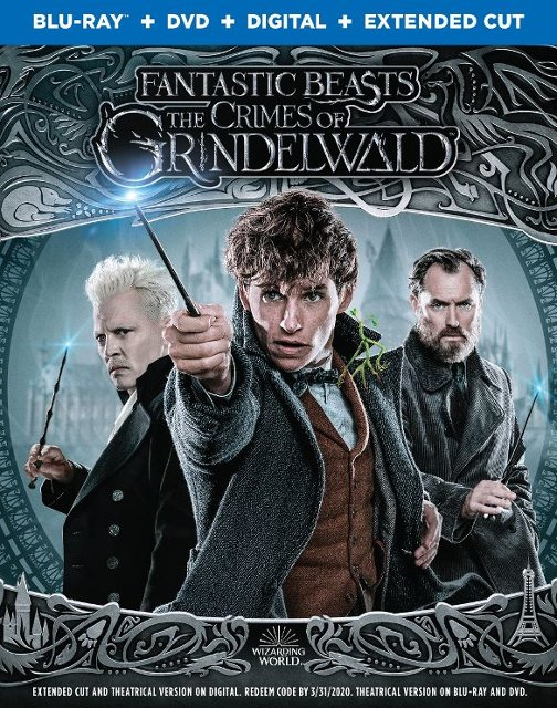 Fantastic Beasts- The Crimes of Grindelwald Blu-ray
