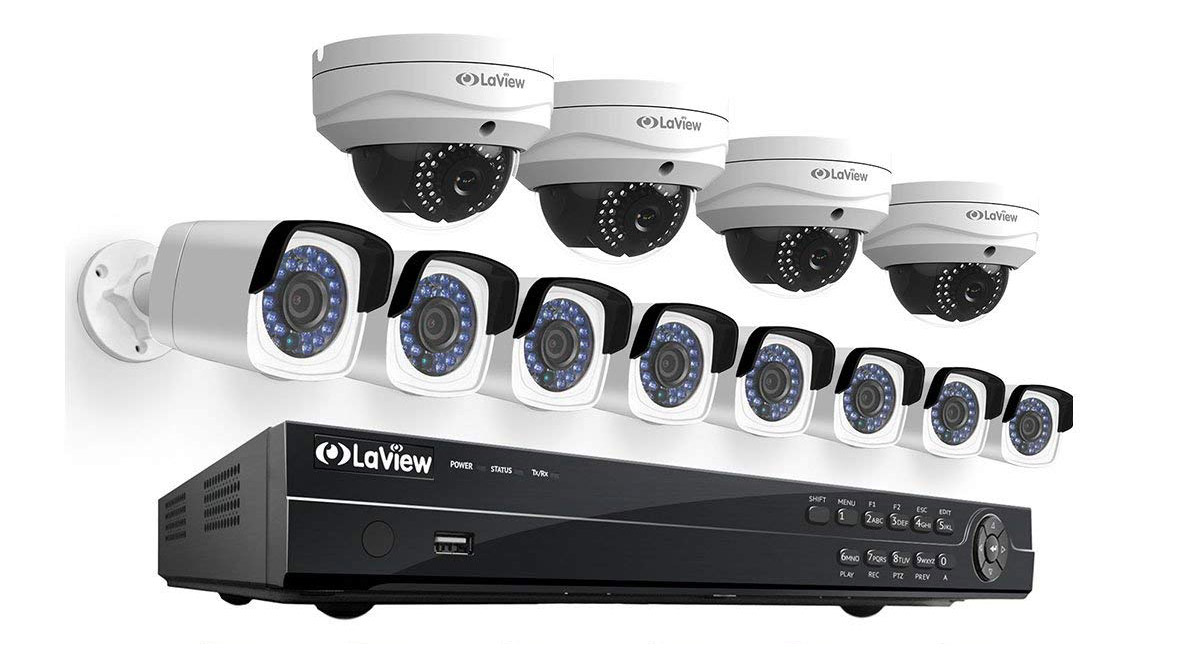 LaView 16-channel security system