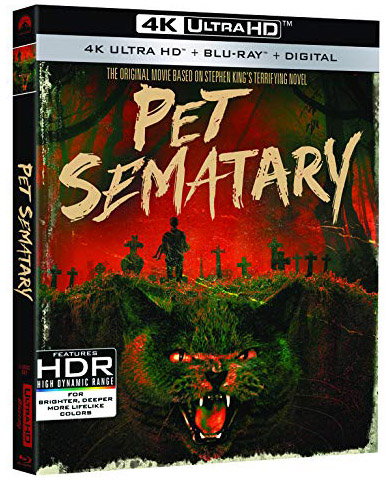 'Pet Sematary' (1989) 4k Blu-ray Disc