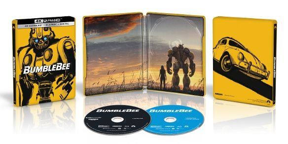 BumbleBee 4k Blu-ray Best Buy SteelBook Edition