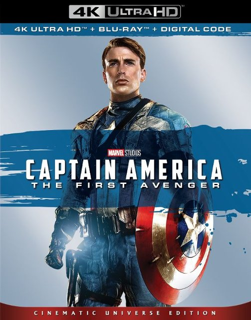 Captain America- The First Avenger 4k Blu-ray