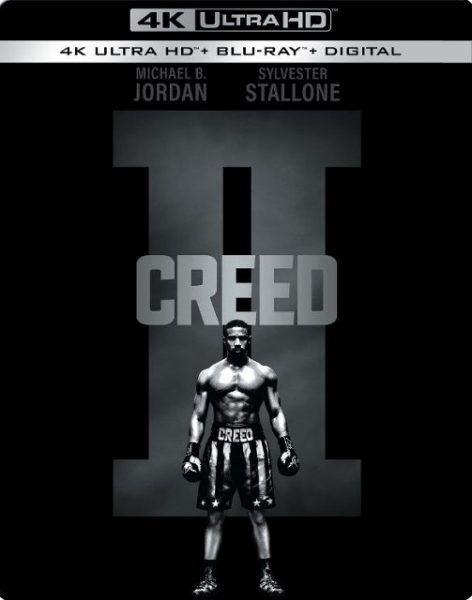 Creed II 4k SteelBook Blu-ray