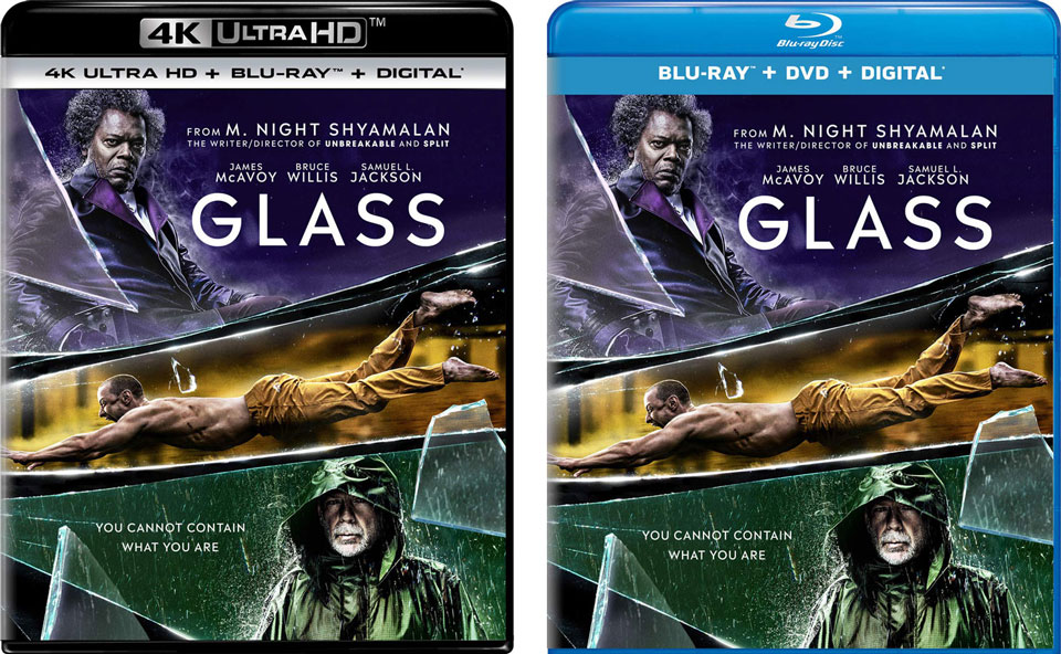 Glass Blu-ray 4k Blu-ray