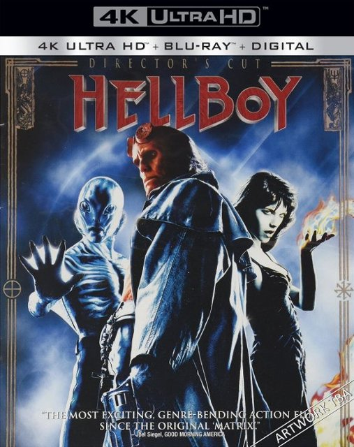 Hellboy 2004 4k Blu-ray FPO