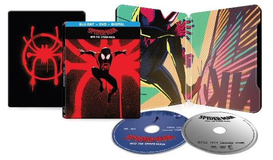 Spider-Man- Into the Spider-Verse Best Buy Exclusive SteelBook