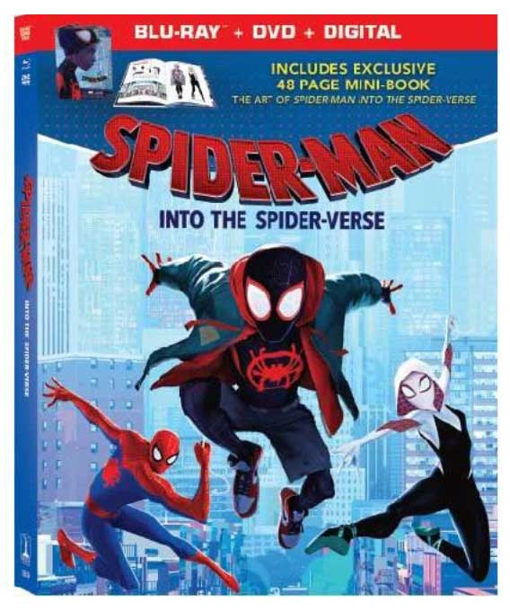 Spider-Man: Into the Spider-Verse Target Blu-ray Exclusive