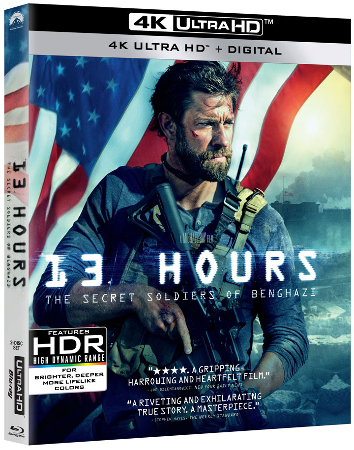 13 Hours The Secret Soldiers of Benghazi 4k Blu-ray angle