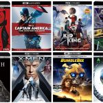 New 4k Blu-ray Discs arriving in April, 2019