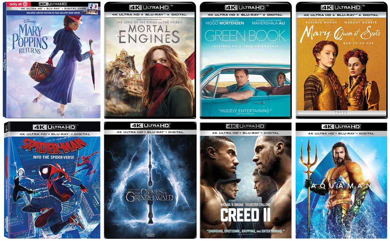 New 4k Blu-ray Releases in March, 2019 – HD Report