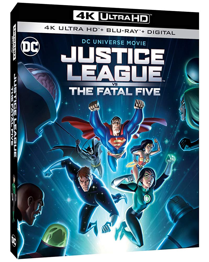 Justice League vs the Fatal Five 4k Blu-ray