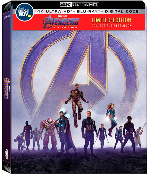 Avengers-End-Game-SteelBook-4k-HDR-Blu-ray-Best-Buy-Slipcover
