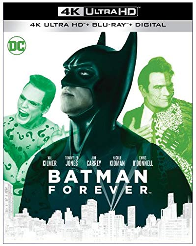 Batman Forever 1995 4k Blu-ray