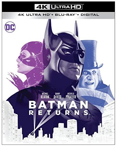 Batman Returns 1992 4k Blu-ray