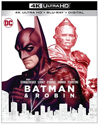 Batman & Robin 1997 4k Blu-ray