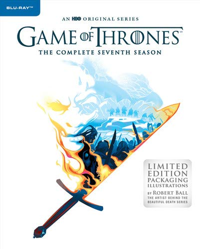 Game of Thrones Season 7 Robert Ball Illustrations Blu-ray