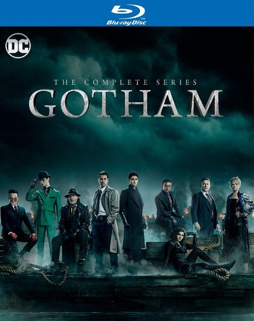 Gotham The Complete Series Blu-ray