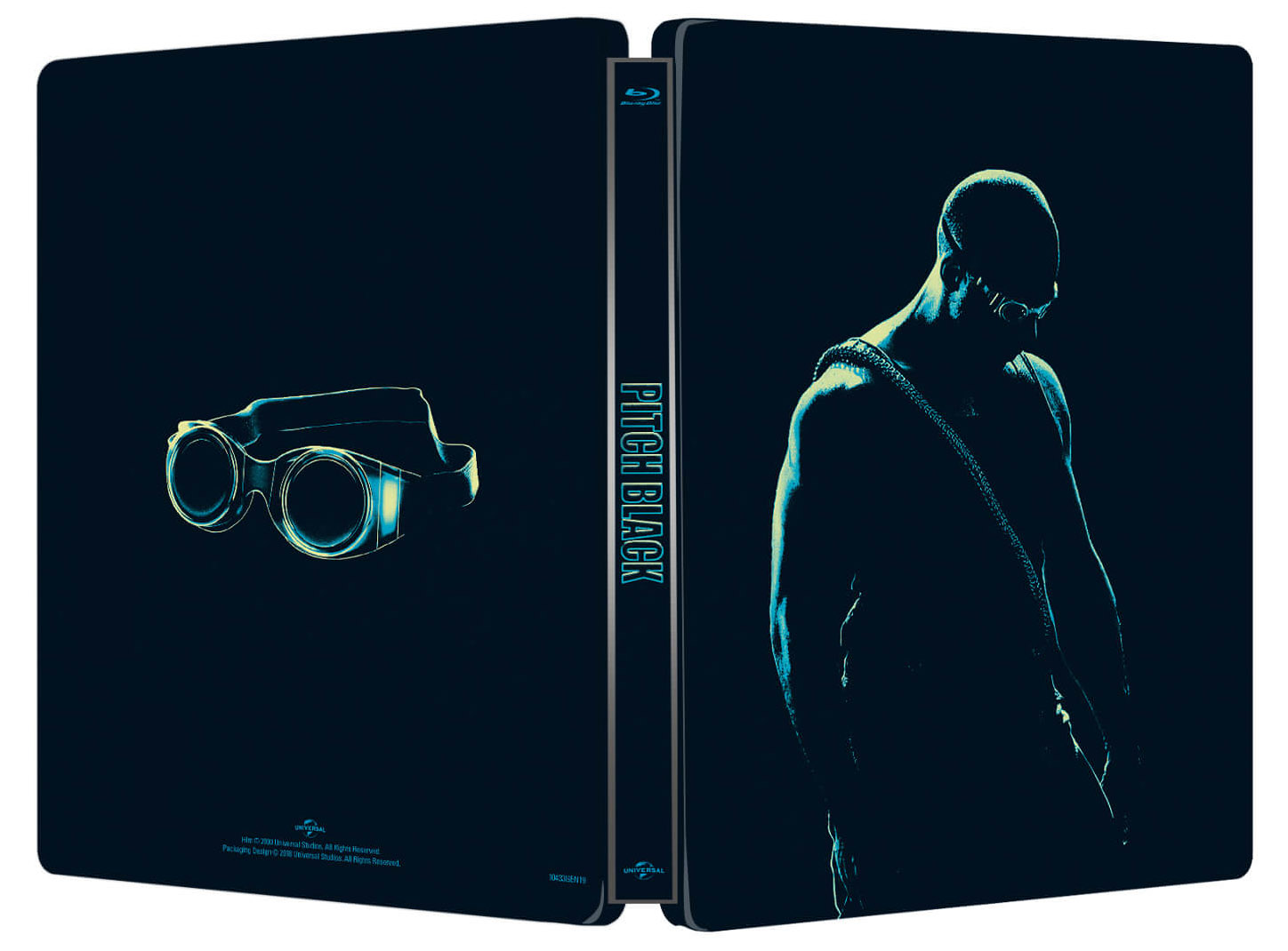 Pitch Black Blu-ray SteelBook outside