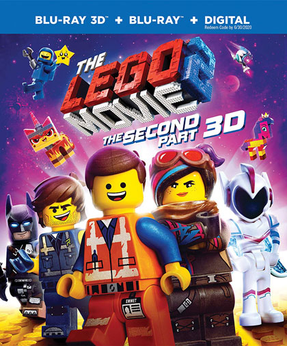 """The LEGO Movie 2: The Second Part"" 3D Blu-ray edition"
