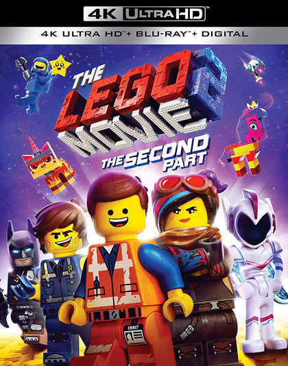 """The LEGO Movie 2: The Second Part"" 4k Ultra HD Blu-ray edition"