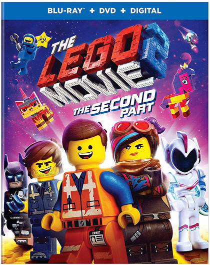 """The LEGO Movie 2: The Second Part"" Blu-ray edition"