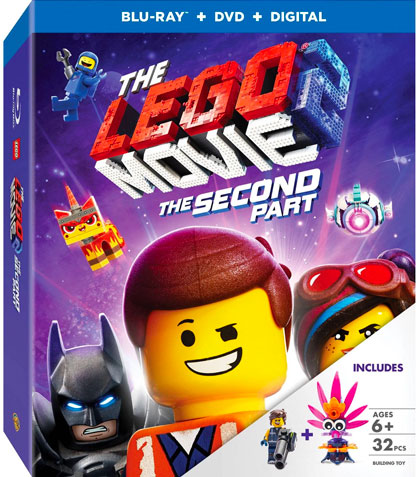 """The LEGO Movie 2: The Second Part"" Blu-ray Target Exclusive LEGO toy closeup"