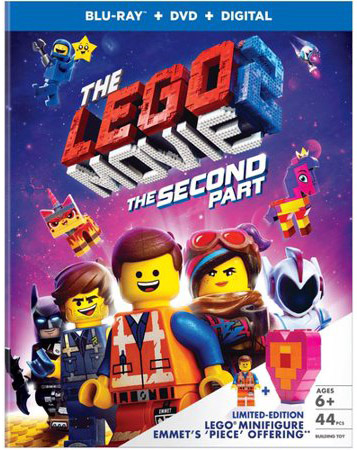 """The LEGO Movie 2: The Second Part"" Blu-ray Walmart Exclusive LEGO mini-figure kit"