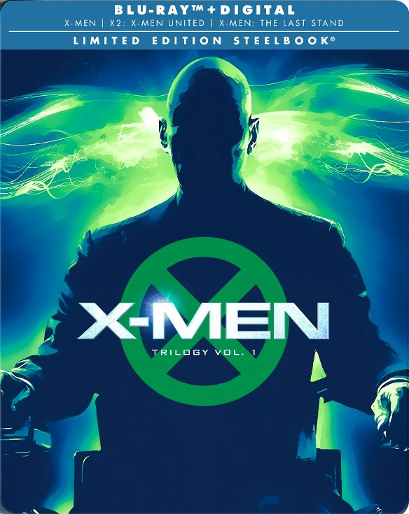 X-Men Trilogy Limited Edition SteelBook Blu-ray 20th Century Fox