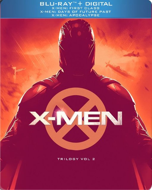 X-Men Trilogy Vol 2 Limited Edition SteelBook Blu-ray